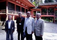 団体参拝-比叡山にない堂前-